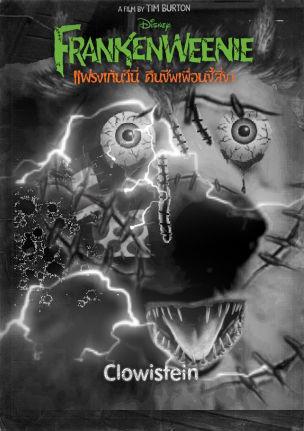 Spooky Clowie for Halloween