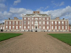 Wimpole Hall, main entrance - from Wikimedia Commons
