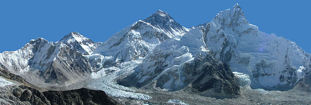 Mount Everest (Photo from Wikimedia Commons)