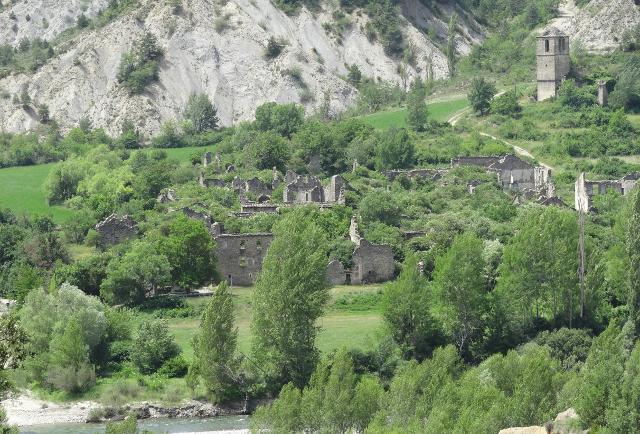 Jánovas village