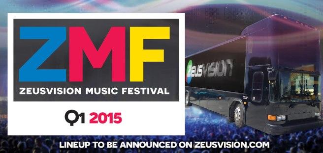 Zeusvision Music Festival Q1 2015